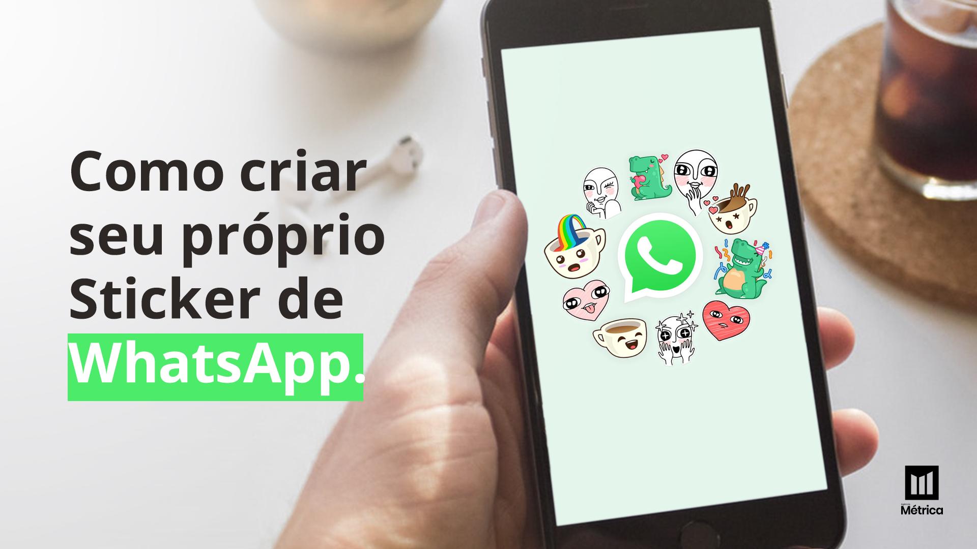 criar stickers whatsapp